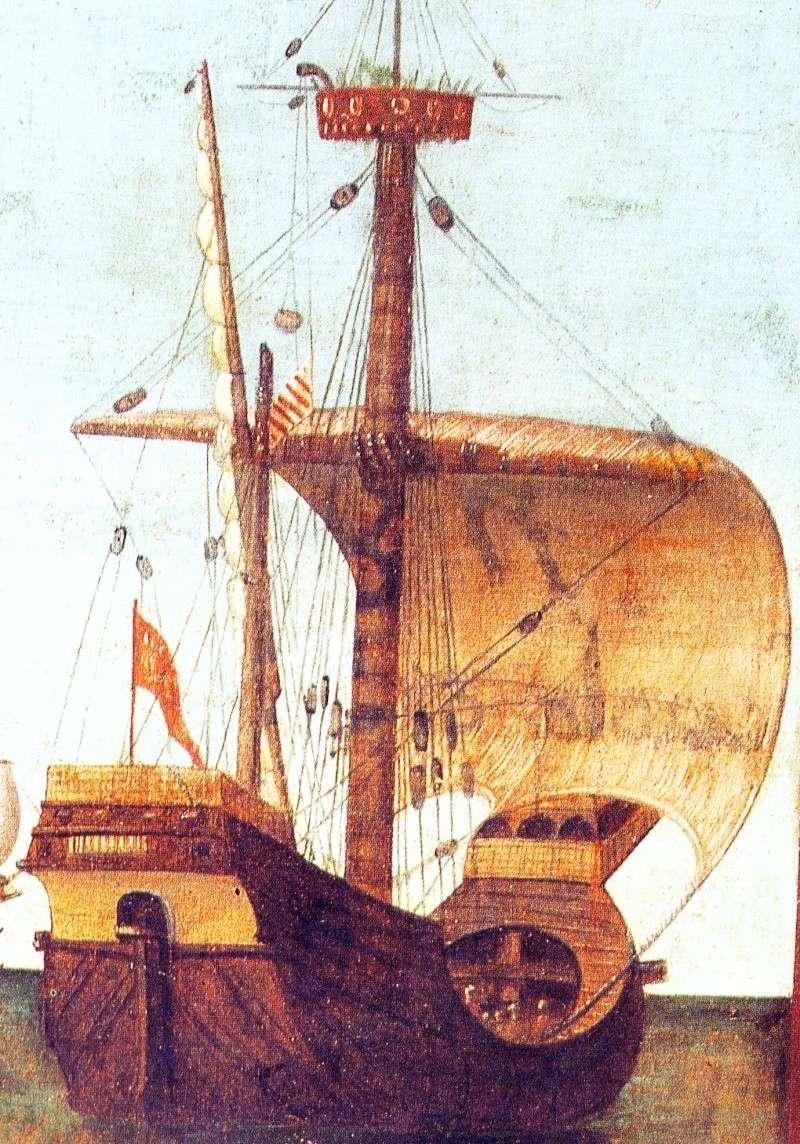 Un galion anglais sur le golfe du Morbihan Voilie10