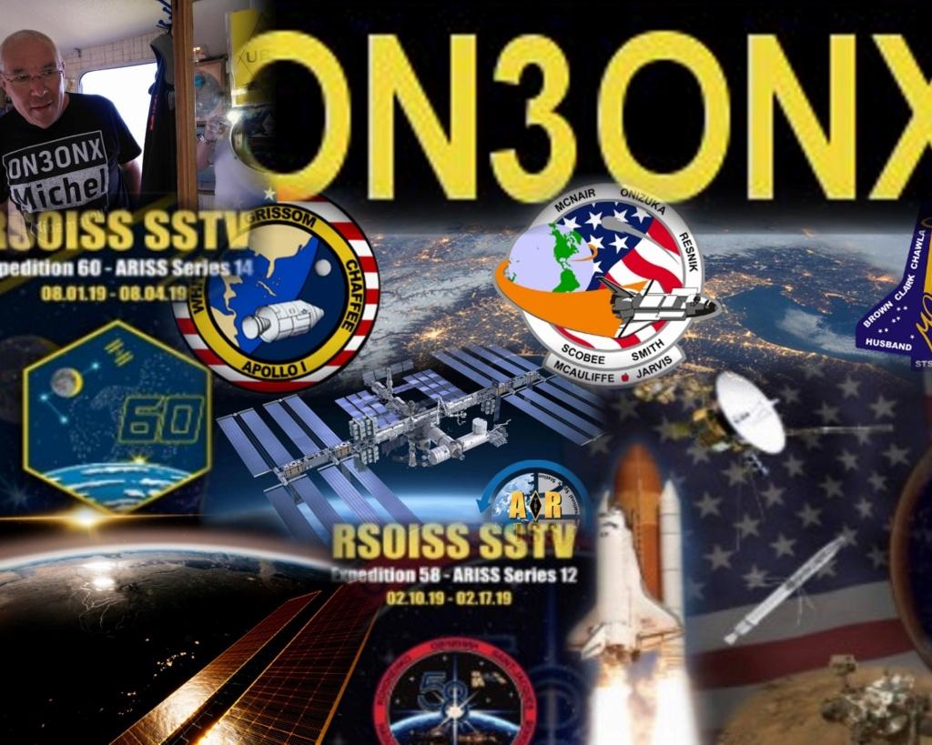 Activité SSTV depuis ISS  DATE : du 04/10/2020 au 08/10/2020 20H00 M10