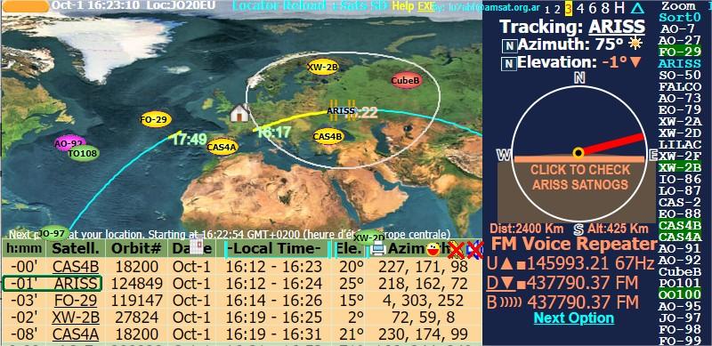 Activité SSTV depuis ISS  DATE : du 04/10/2020 au 08/10/2020 20H00 Sat_pa10