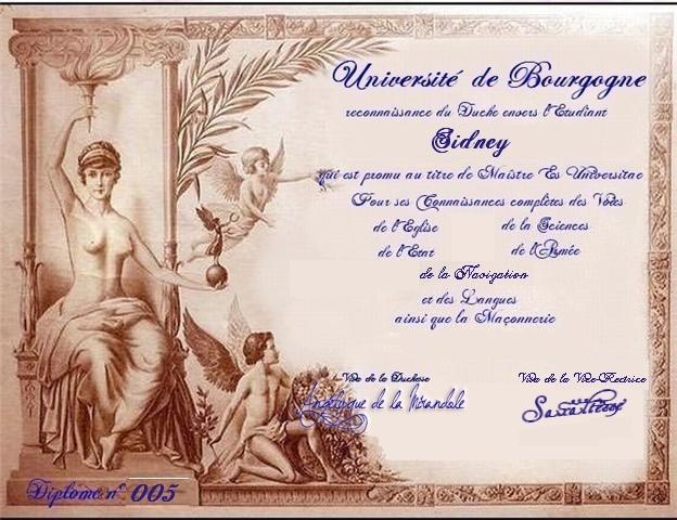 Les Diplomes de Bourgogne Sideny10