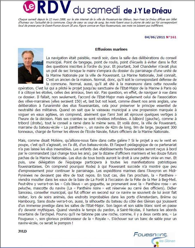 [Les traditions dans la Marine] Les Villes Marraines - Page 4 La_pan10