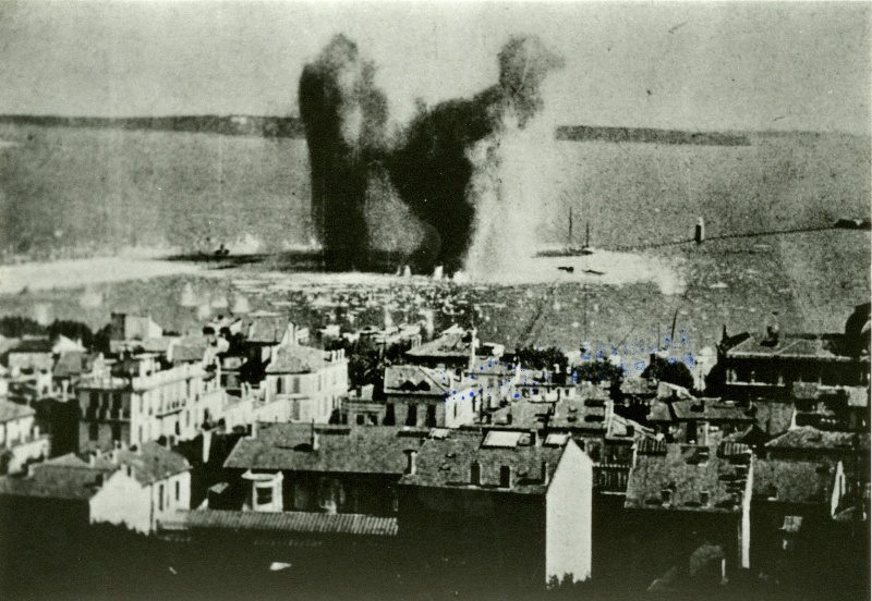 Destruction du port de Cannes (06) 13fi911