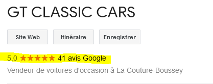 GT CLASSIC CARS AVIS Avis10