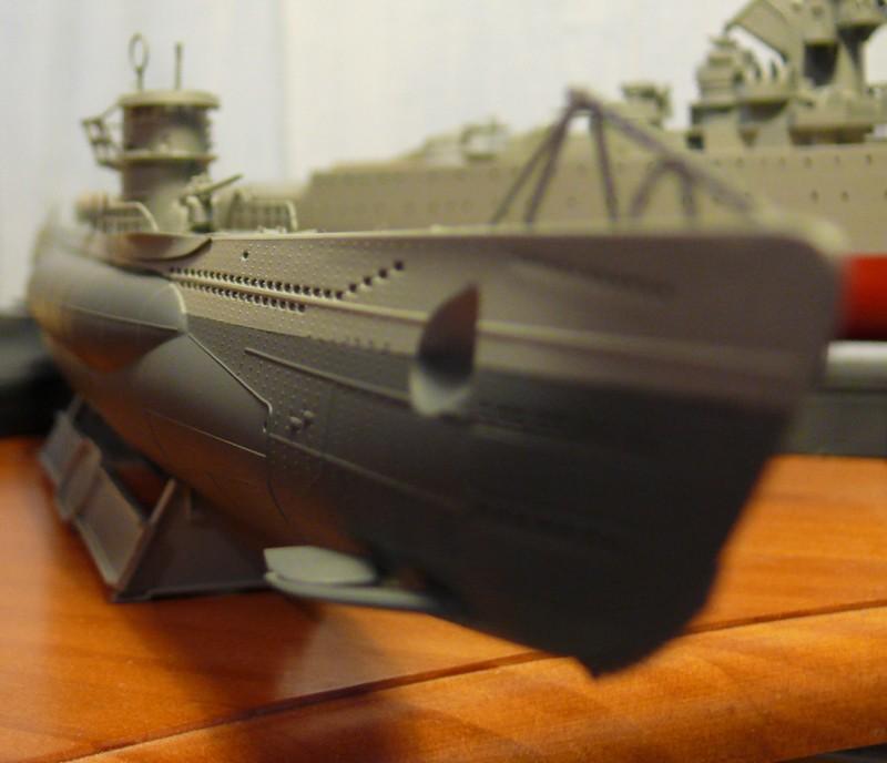 U-Boot type VII-C U96 [Revell 1/144] P1020418