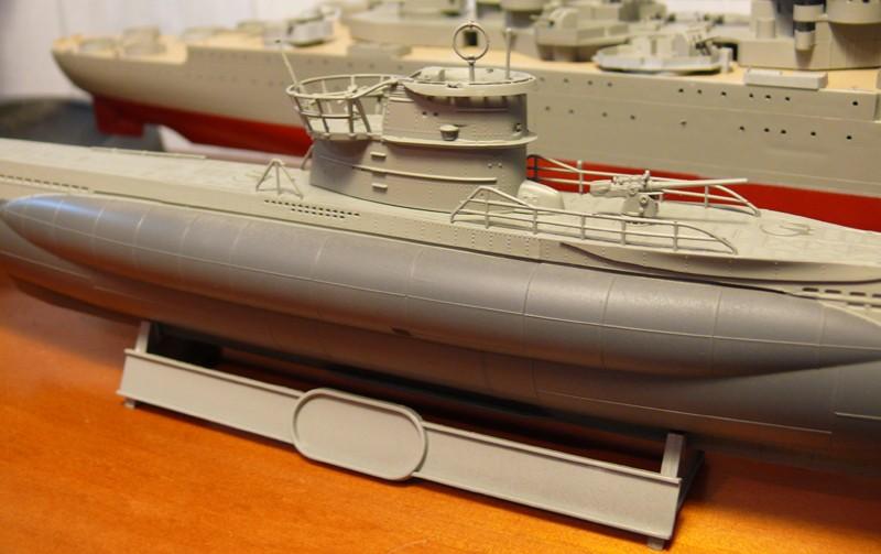 U-Boot type VII-C U96 [Revell 1/144] P1020419
