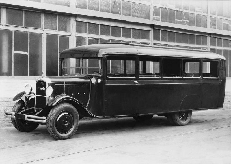 Photos d'autobus et autocars Citroën 1932_c10