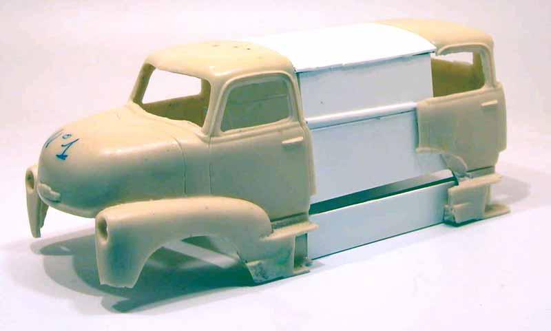 "mon second COE ""Chevy 50 ramp truck XXL"" Aut44513"