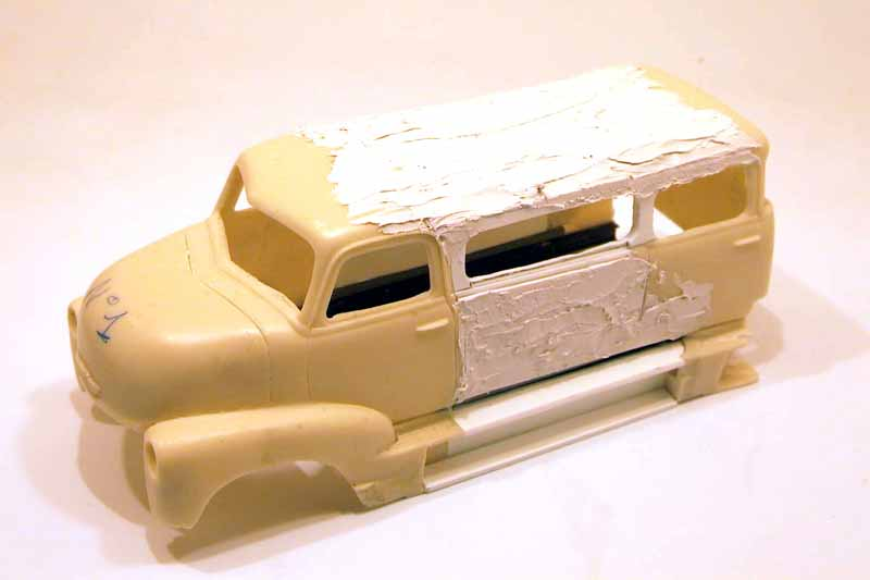 "mon second COE ""Chevy 50 ramp truck XXL"" Aut44523"