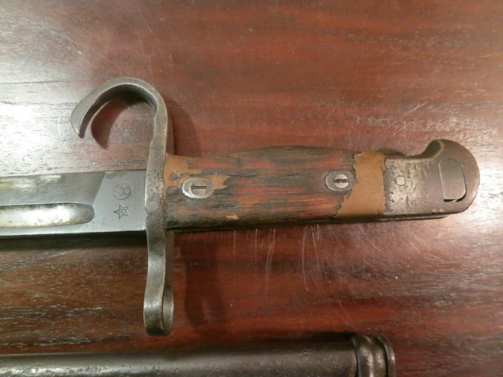 Baïonnette Arisaka modèle 1897 type 30 Img_1292