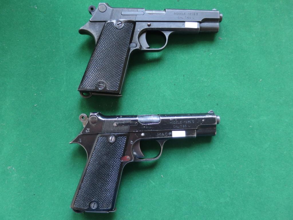 """Pistolet réglementaire MAS Modèle 1935 """"S"""" - Page 2 Img_2429"""