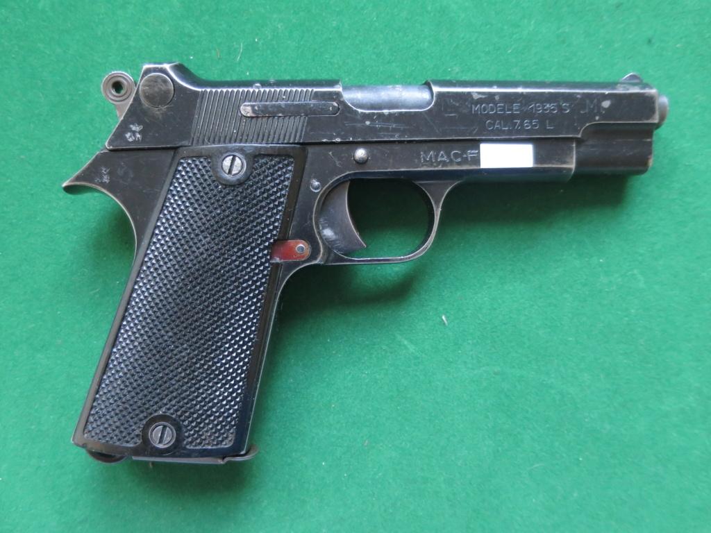 """Pistolet réglementaire MAS Modèle 1935 """"S"""" - Page 2 Img_2437"""