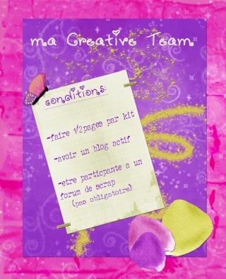 appel pour ma creative team Cretiv10