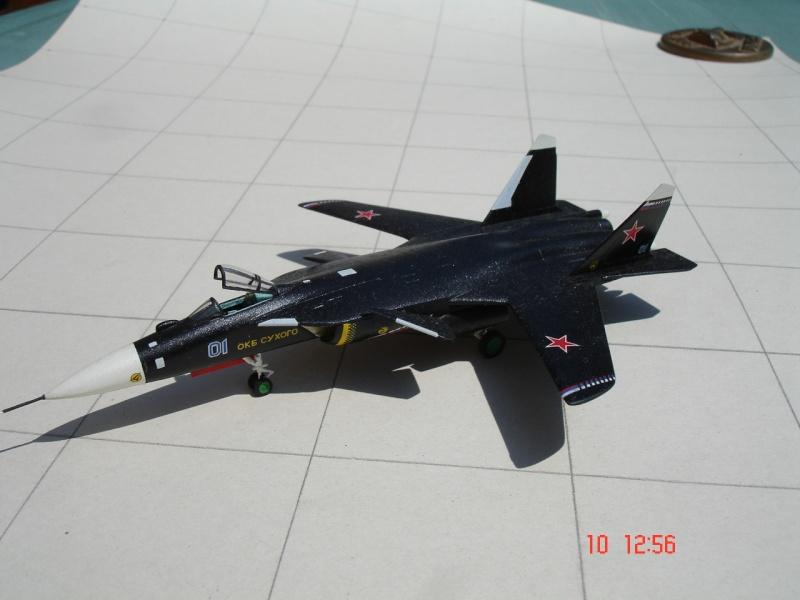 Sukhoi Su-47 Berkut [ Revell - 1/144 ] Dsc03510