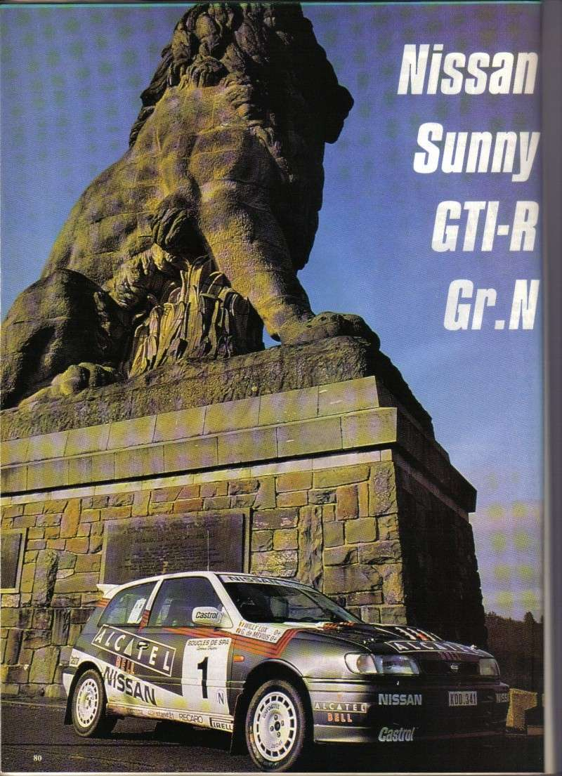 NISSAN SUNNY GTI-R 4wd Compte11