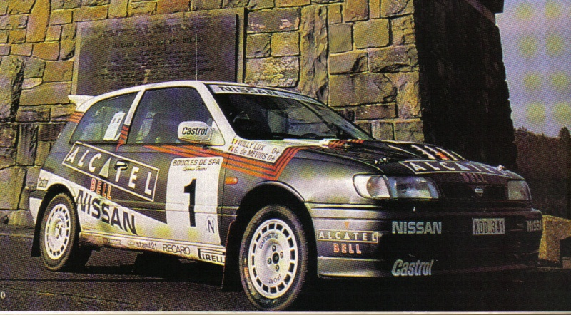NISSAN SUNNY GTI-R 4wd Compte13