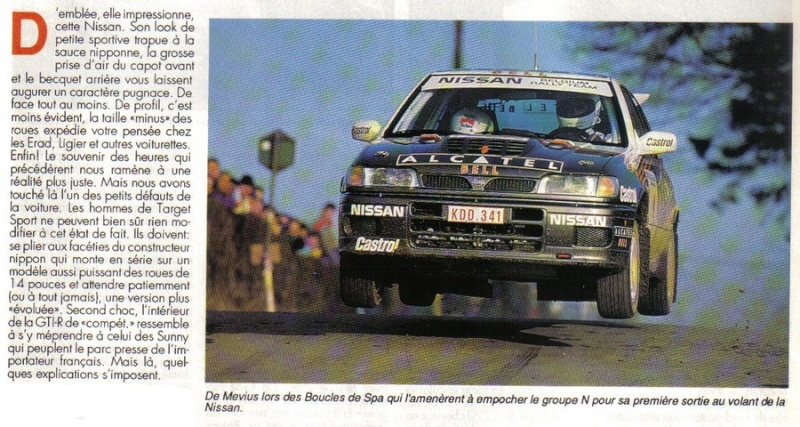 NISSAN SUNNY GTI-R 4wd Compte15