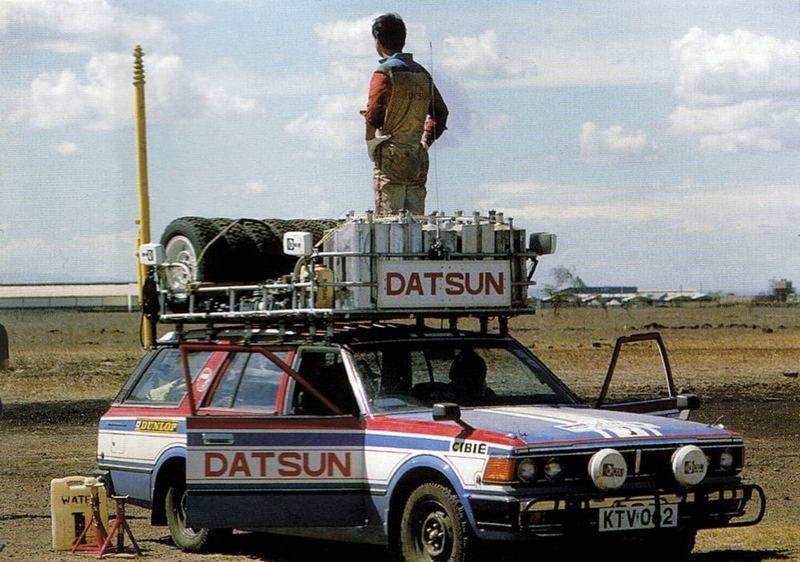 nos OLDSCKOOLS dans Les Rallies historiques... Datsun10