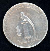 Guatemala, 1/4 de Quetzal, 1925 25cent10