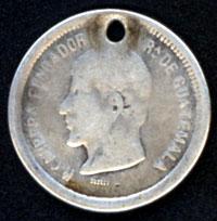 Guatemala, 1 Real, 1866 Carrer10