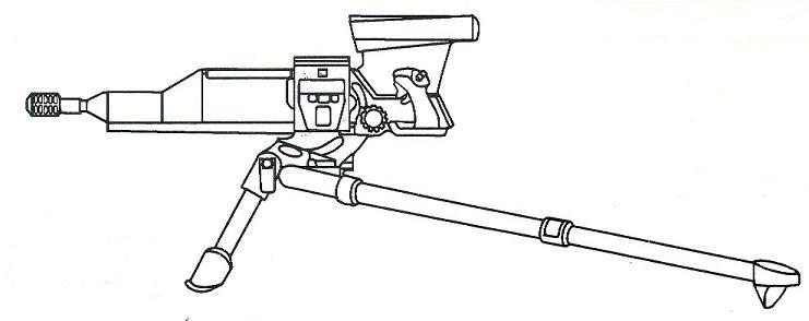 La mitrailleuse Américaine XM307 Sans_t17