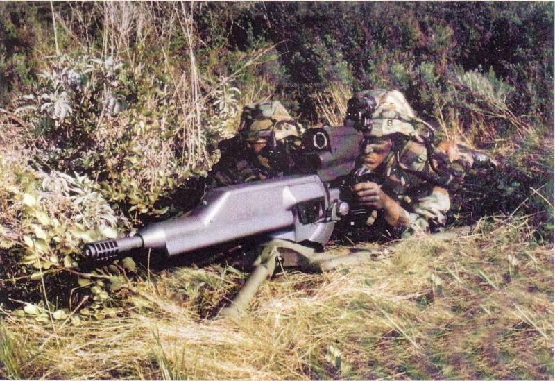 La mitrailleuse Américaine XM307 Sans_t20