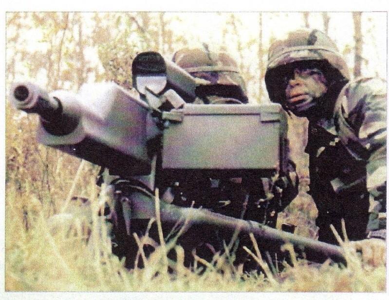 La mitrailleuse Américaine XM307 Sans_t21