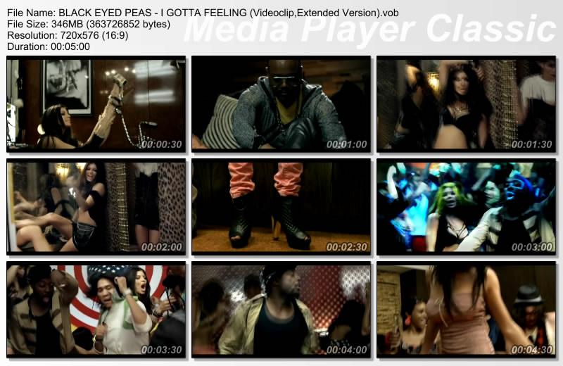 BLACK EYED PEAS - I GOTTA FEELING (Videoclip,Extended Versio Thumbs30