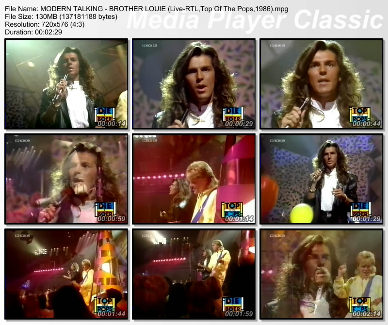 MODERN TALKING - BROTHER LOUIE (Live-RTL,Top Of The Pops,1986) Thumbs35