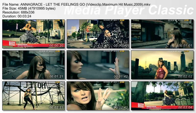 ANNAGRACE - LET THE FEELINGS GO (Videoclip,Maximum Hit Music) Thumbs40