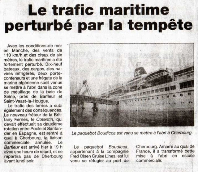 [Activité des ports hors Marine] LE PORT DE CHERBOURG - Page 7 Img03311
