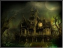 haunted houses and scenery Paper710