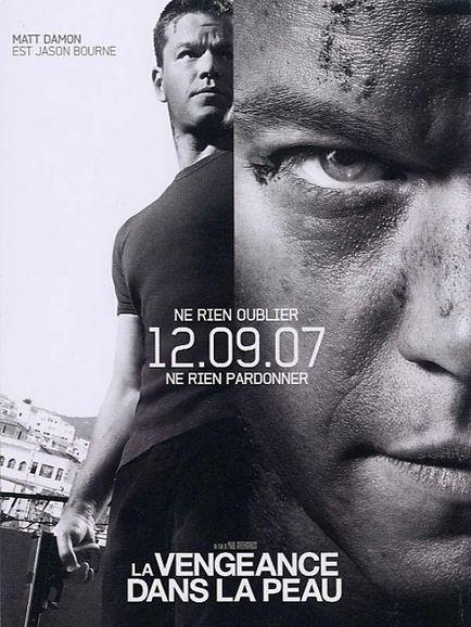 The Bourne quadrilogy (2002~2016, Doug Liman/Paul Greengrass) Ultima10