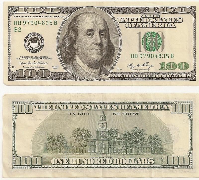 Billete de 100 dólares americanos 100_do10