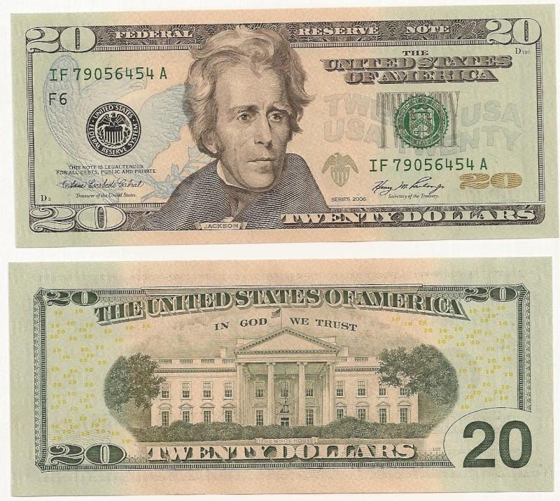 Billete de 20 dólares americanos 20_dol10