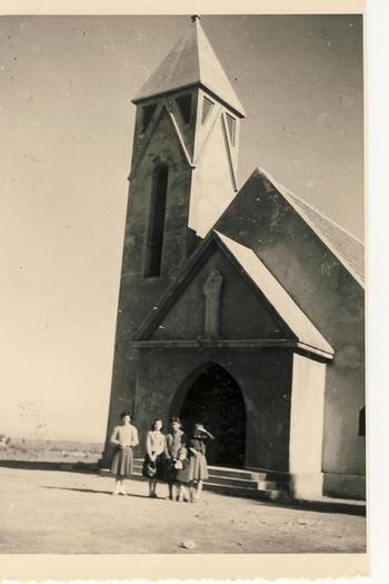"""Mémoires du """"bled""""  de la région de Meknès Eglise11"""