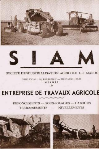 Fermes Agricoles, Viticoles, Région de Meknès Meknas14