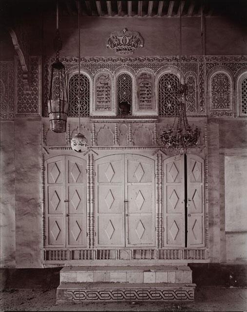 Meknès, la Ville Ancienne et les 2 Mellahs   3 Synag_11