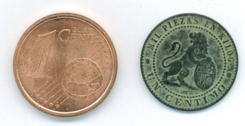 1 cts. Pts. Gobierno Provisional (Barcelona, 1870 d.C) Fotogr14
