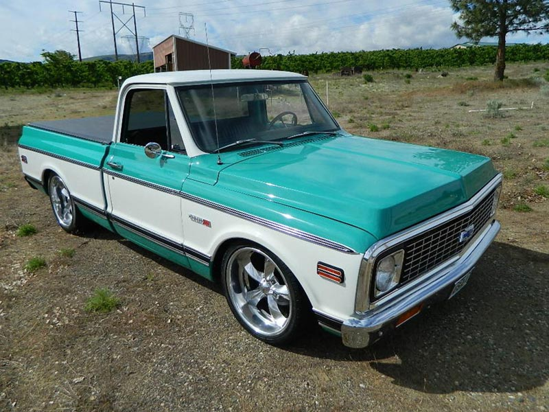 Fabrication carrosserie Chevy c10 1971-t10