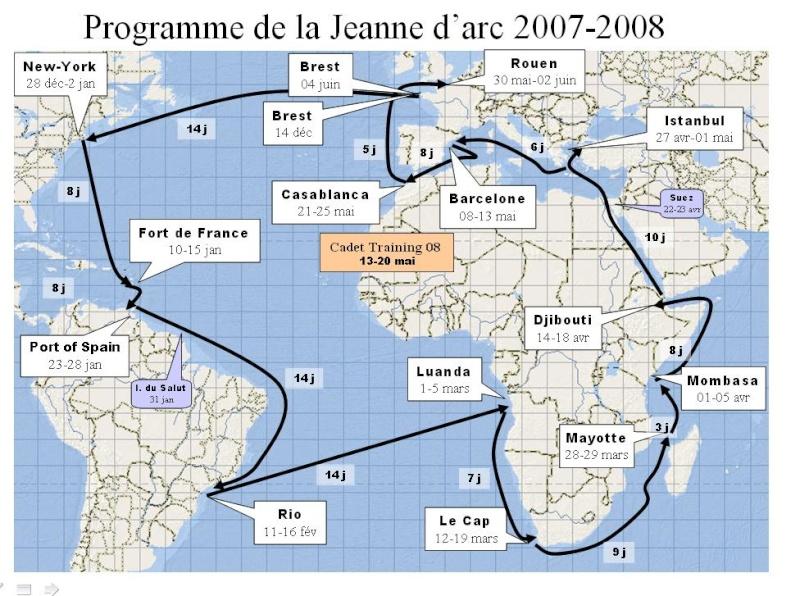 Porte-hélicoptères R97 Jeanne d'Arc - Page 2 Carte10