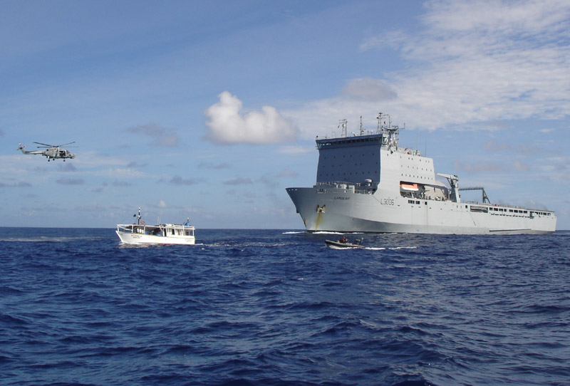 RFA : Royal Fleet Auxiliary Largsb10