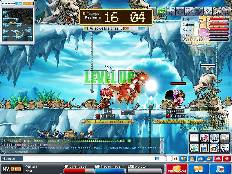 x fin lvl 200 xD Maple024
