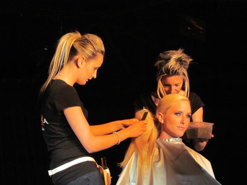 défilé de mode et coiffure Dafila21