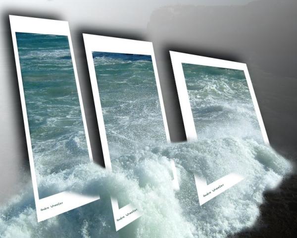 تصاميم لأمواج البحر داخل اطار 76329810