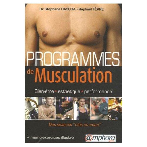Livre : Programmes de Musculation 512c8310