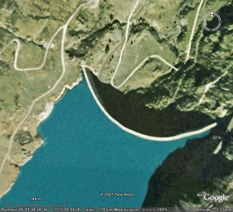 Les barrages dans Google Earth - Page 5 Toules11