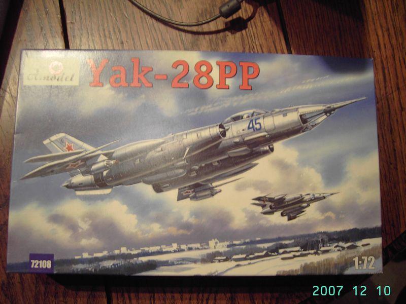 Yak-28 A-Model [1/72] Tn_mon10