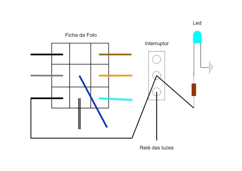 Luzes auxiliares/Faróis de nevoeiro Esquem11