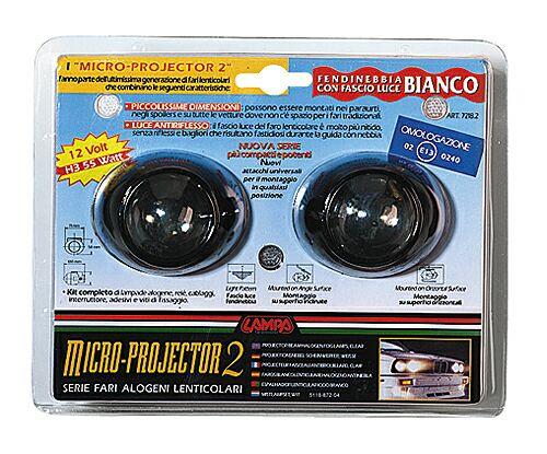 Luzes auxiliares/Faróis de nevoeiro Micro-10