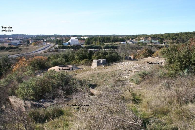 Bunker commandement d'aérodrome : Nîmes - Courbessac (30) Bunker10